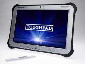 屋外や過酷な現場に適した頑丈タブレットコンピューター『TOUGHPAD FZ-G1/FZ-M1』シリーズ