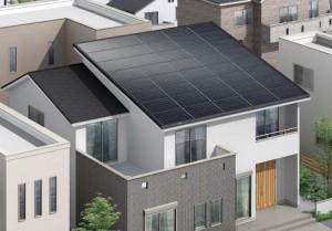 総2階約30坪住宅で全量買取りの10kWを実現する大容量発電『ソーラールーフ Aタイプ』