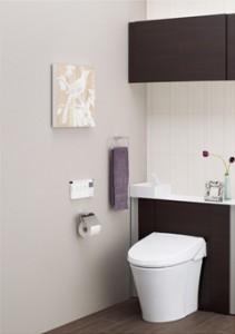 LIXILがキャビネット付トイレ『リフォレ』を発売
