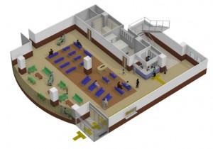 医療施設のレイアウトを3Dで提案できる営業支援ソフト『3D医療施設プランナー』