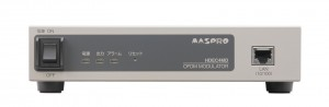 マスプロ電工がHDエンコーダー内蔵OFDM変調器『HDEC4MD』を発売