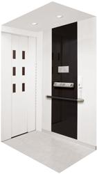 使用可能な車いすのサイズが拡大したホームエレベーター『XLミディモダンE』『XLスリムモダンE』
