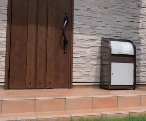 荷物が2個受け取れる2層構造の戸建住宅用宅配ボックス『ニコウケトール』