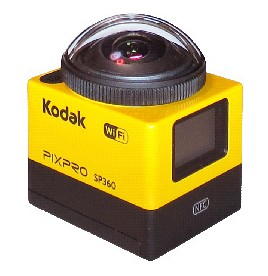 マスプロ電工がKodakブランドのカメラ『アクションカム SP360』を発売