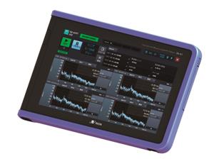 タブレット型の多機能計測システム『SA-A1』