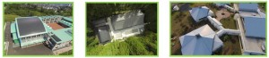 ラジコンヘリを用いた屋根の空撮動画配信『Bird View The GANTAN』