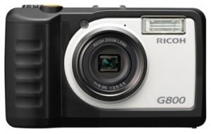 防水・防塵・耐衝撃、耐薬品性タイプの現場対応用デジタルカメラ『RICOH G800』