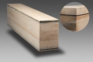 帝人が高機能繊維を使用した木造建築物用集成材を開発