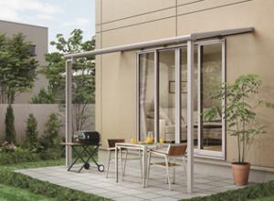 LIXILがテラス『パワーアルファ』に高機能屋根材2タイプなどを追加