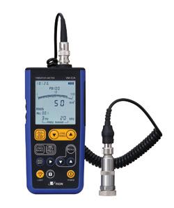 軽量化と使いやすさをより追求したハンディタイプの汎用振動計『VM-82A』