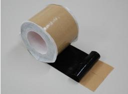 小規模コンクリート水路の目地を簡単に補修できるテープ『ブチテープ』