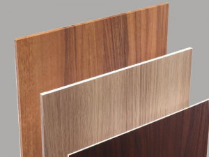 自然素材の質感を持つ化粧シートと不燃基材を組み合わせた内装壁面向け不燃化粧パネル『マテリウム』