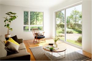 複層ガラス仕様の樹脂窓で高い断熱性能と美しいデザインを実現した『エルスターS』