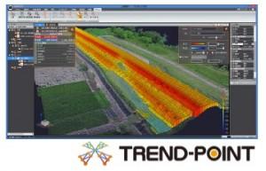 建設施工の3次元化を支援する3D点群処理システム『TREND-POINT Ver.3』