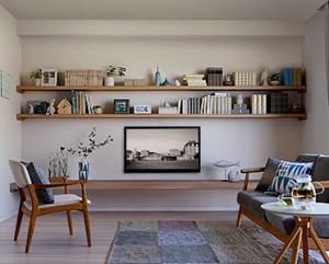 収納棚やデスク、腰掛けベンチなどさまざまな使い方が可能な造作材『シートカウンター』