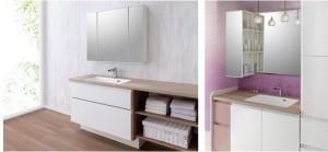 洗面化粧台の収納力・使いやすさ・清掃性にこだわった『ai-cabi L・SERiES スマートサニタリー』
