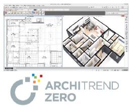 福井コンピュータアーキテクトが3D建築CADシステム『ARCHITREND ZERO Ver.3』を発売