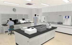 メガソフトが病院を3Dで再現するソフトに検体検査機器のパーツを追加
