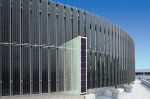 三協立山アルミ株式会社が「太陽電池一体型目隠しルーバー」に、たて型 『210タイプ』を発売