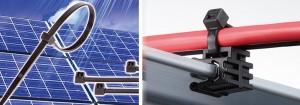 太陽光発電システム施工用結束バンド「ガルバロック」の新タイプ