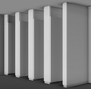 コマニーがトイレ空間をハイグレード化するブース『CB−GradeS』を発売