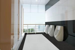 タキロンが耐尿、耐薬品性に優れたトイレ用床材『ネオクリーン』を発売