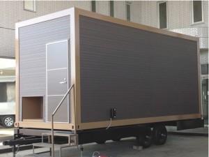 トレーラーハウスデベロップメントが建築確認不要なトレーラーハウス『CAPSULE-CUBE』を発売