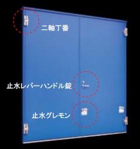 文化シヤッターが浸水高さ3mの水圧に耐える止水ドア『アクアード』新タイプを発売