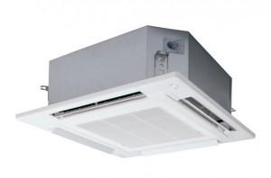 パナソニックエコソリューションズ社が清潔さと省エネを向上した業務用エアコン『オフィス・店舗用エアコン 4方向天井カセット形室内機』を発売
