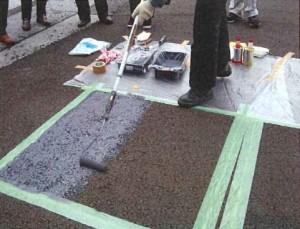 ミラクールが遮熱性舗装の小規模復旧キット『ミラクールリペア』を発売