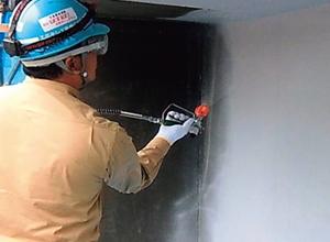 アイカ工業が環境に配慮した塗布型ライニング工法「ダイナミックレジンDR-リードアクア工法」を発売