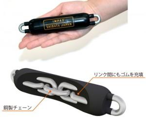 シバタ工業が小型・薄型タイプの衝撃吸収材「IMPAX JOINT」を発売