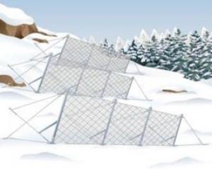 プロテックエンジニアリングが経済性・安全性に優れた雪崩予防柵『SPARC(スパーク)フェンスS タイプ』を発売