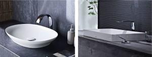 TOTOが新素材による『ベッセル式洗面器(オーバル形/スクエア形)』2モデルを発売