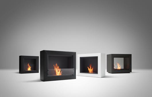 バイオエタノール暖炉「エコスマートファイヤー」より『BLACK FIREBOX』シリーズ発売