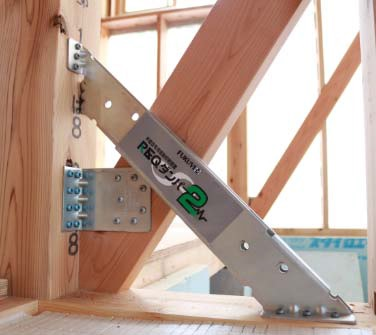 フクビ化学工業が木造住宅用振動抑制装置『REQ ダンパー2』を発売