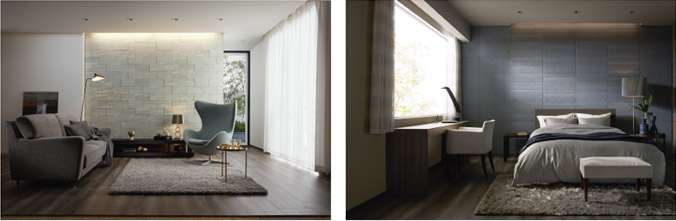 内装機能建材「エコカラット」「エコカラットプラス」シリーズから4商品を新発売