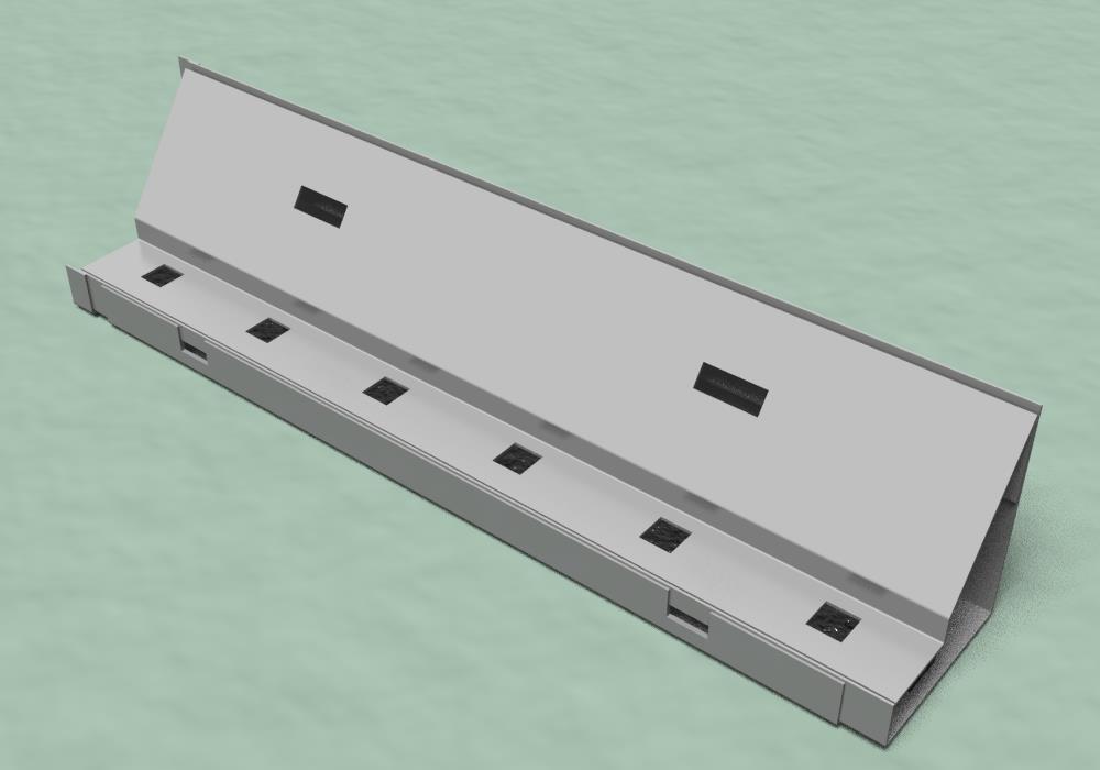 メンテナンスフリー型100年耐久SUS鋼製排水溝『Gブロックドレイン』