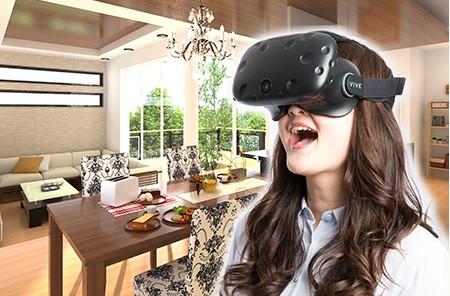 「複数人同時」にVR体験が可能なHMDタイプの住宅プレゼン用VRシステム『ALTA VR-Mini マルチオプション』