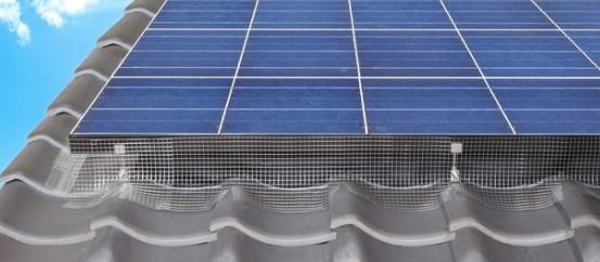 ソーラーパネル鳥害対策フェンスシステム『バードブロッカー』新発売