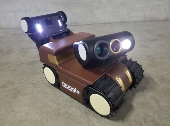 狭小空間点検ロボット『moogle evo(モーグル エヴォ)』発売