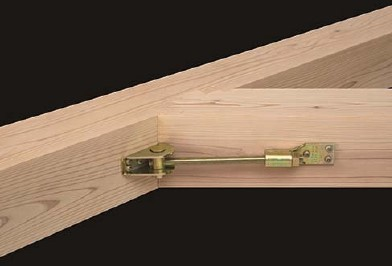 斜め梁・登り梁対応、ビス施工の羽子板金物『フリーウイング羽子板セット』発売