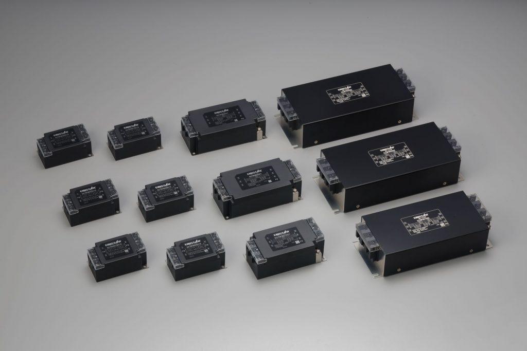 海外安全規格取得 EMI フィルタを発売