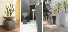 人工石製ガーデンポット/FRP製プランター