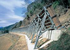 日鐵落石防止壁