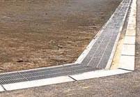 鋼製グレーチング U字溝ぶた 歩道用