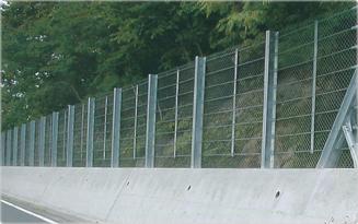 落石防護柵 現行基準品(改良型) ケーブル